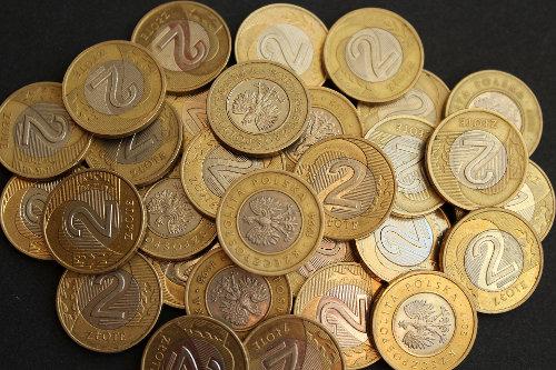 Monety o nominalne 2 złote